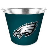 Philadelphia Eagles Beer Bucket, Galvanised Tin with handle